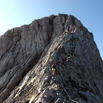 Am Chaiserstock-Gipfelgrat