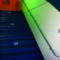 Motiv 7 - Treppenhaus in der Tour Montparnasse, Paris