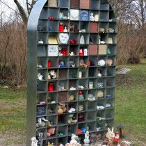 Motiv 15 - Motivwand, Friedhof Freiburg