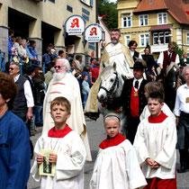 Bild 5 - Pfarrer Körner und Diakon Rich