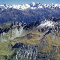 Ötztaler Alpen 3 - Blick vom Schesaplanagipfel