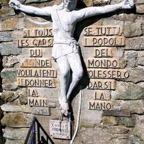 Motiv 16 - Christus am Bergseil, Pointe Helbronner