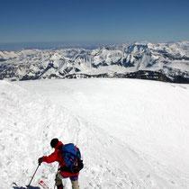 Glarner Alpen 4 - Blick vom Titlisgipfel