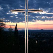 Motiv 15 - Schlossbergkreuz, Freiburg