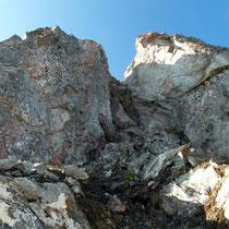 Durchstieg - Gipfelfelsen