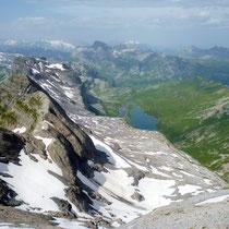 Glattalp vor Urner-Alpen