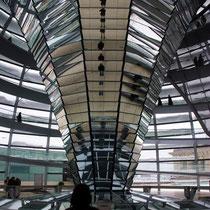 Motiv 4 - Spiegelspirale im Bundestag Berlin