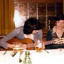 Mit Pflegeschülern - Freiburg 1976