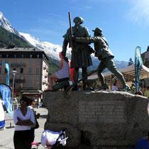 Motiv 1 - Monument in Chamonix - Horace-Benedict de Saussure