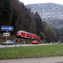 Motiv 13 - Im Höllental, Höhe Kehre-Tunnel