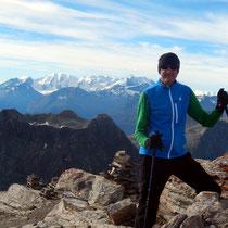 Am Gipfel des Igl Compass - 3016 M
