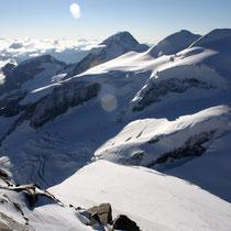 Bernina-Gruppe 2 - Blick vom Spallagrat