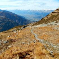 Abstieg - Alpage Chandolin