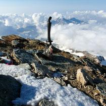 Gipfel Punta Giordani - 4046 M