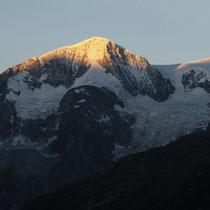 Pigne d'Arolla im Morgenlicht