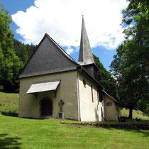 Motiv 9 - Oswaldkapelle im Höllental