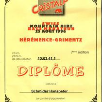 Diplôme 1996