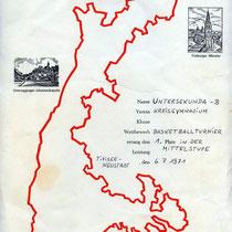 Urkunde 1971