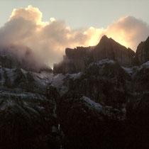 Sonnenuntergang - Glarner Tödi