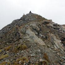 Gipfel - Pointe de la Tsevalire