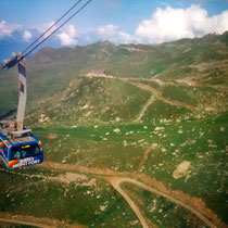 Bergbahn über Verbier