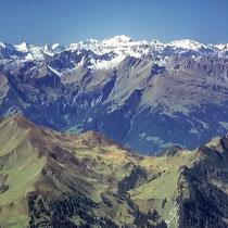 Glarner Alpen 1 - Blick vom Gipfel der Schesaplana
