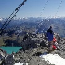 Ötztaler Alpen 1 - Blick vom Schesaplanagipfel