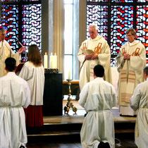 Weihegebet des Bischofs