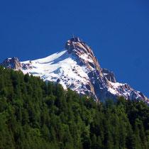 Motiv 15 - Aiguille du Midi, Blick von Chamonix