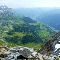 Gipfelblick auf Grotzenbüel