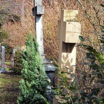 Motiv 2 - Grabkreuze, Stadtfriedhof Freiburg