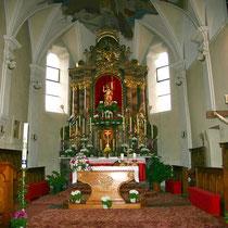 Pfarrkirche in Huben