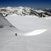 Motiv 16 - Abstieg, Mont Blanc de Cheilon