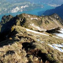 Abstieg - NW-Gipfelgrat