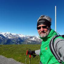 Am Gipfel des Fronalpstock