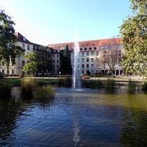 Motiv 14 - Beim Universitäts-Klinikum in Freiburg