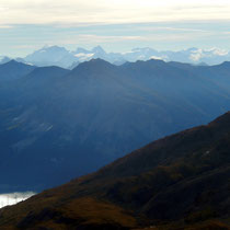 Blick in die Livigno-Alpen