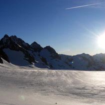 Pelvoux-Ècrins-Gruppe 2 - Blick vom Glacier Blanc
