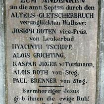 Motiv 12 - Altels-Gletscherbruch 1895
