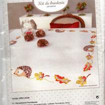 Igel Decke 100% Polyester, Garn 100%BW,ca. 80x80 cm, vorgezeichnet  13,50 €