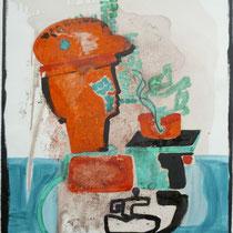 1986, MAIKO, 42 x 56, Acryl