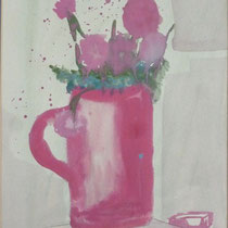 1967, o.T., 33 x 44, Acryl und Öl