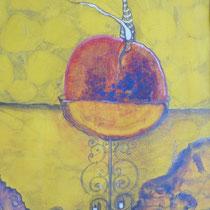1999, SUNNY APPLE, 57 x 68, Acryl