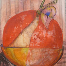 1997, BIG APPLE, 100 x 140, Acryl