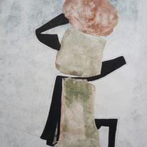 1981, PORTIONIERUNG, 41 x 54, Acryl
