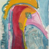 1975, Portrait, 28,5 x 39 , Acryl