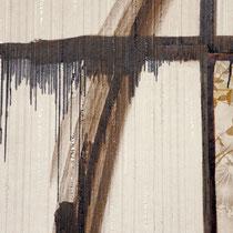 Wohnzimmer 3  Malerei und Installation in Abbruchhaus 2003