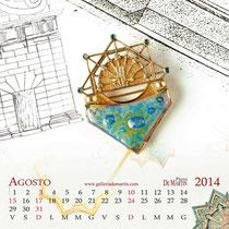 Piero De Martin Calendario 2014 - Agosto - foto e grafica Alessio Buldrin www.fotoegraficaweb.com
