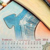 Piero De Martin Calendario 2014 - Febbraio - foto e grafica Alessio Buldrin www.fotoegraficaweb.com