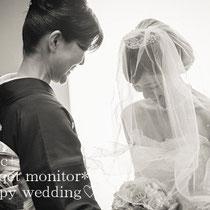 先輩花嫁さまのお写真